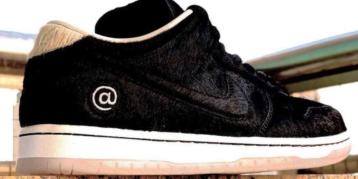 2020 BE@RBRICK x Nike SB Dunk Low Black Beige