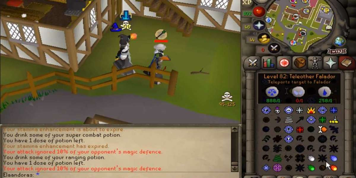 OSRS cellphone does not look much different to OSRS around PC