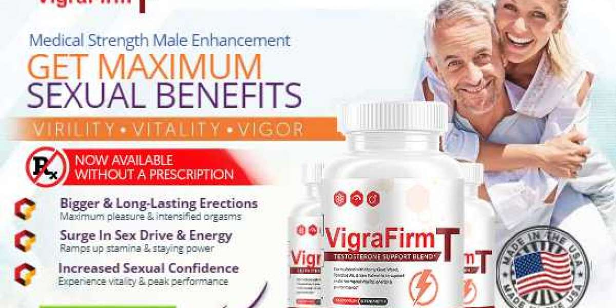 VigraFirmT - Testosterone Booster Pills For More Stamina