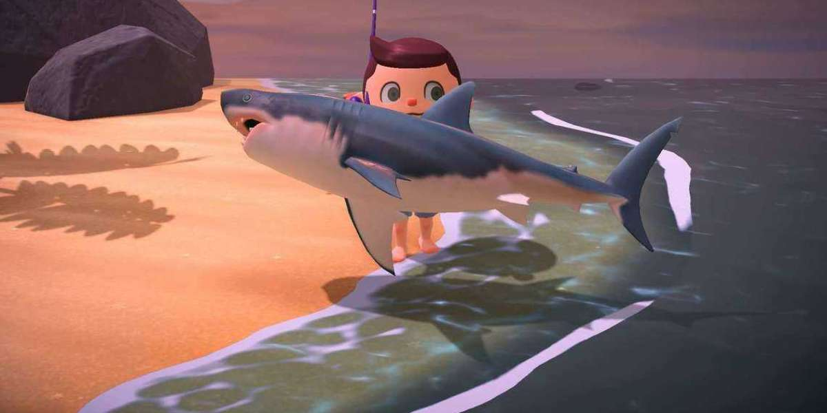 YOUR GREAT WHITE SHARK IN ANIMAL CROSSING IS THE 'HOLY GRAIL' FOR REAL AQUARIUMS