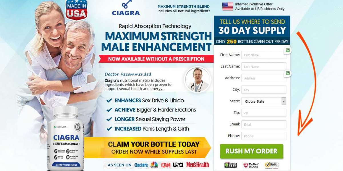 Ciagra Male Enhancement - Restores Your Sex Drive And Energy