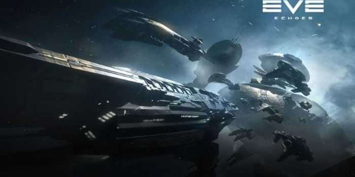 EVE Echoes initially looks like a huge game