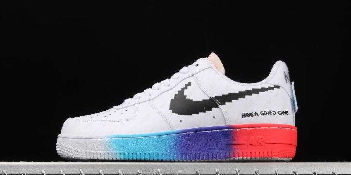 2020 New Drop Nike Air Force 1 07 White Luminous for Sale