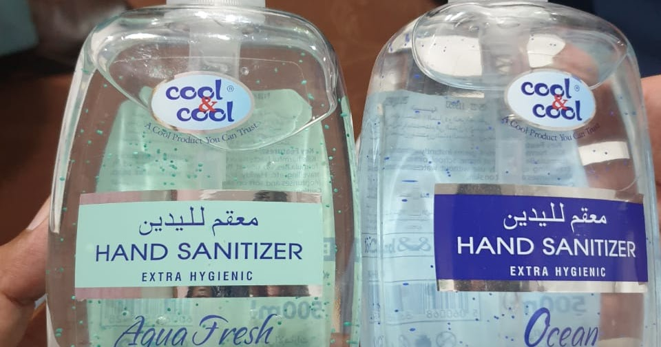 Drap Approved Hand Sanitizer (Cool & Cool) - Mi Traders