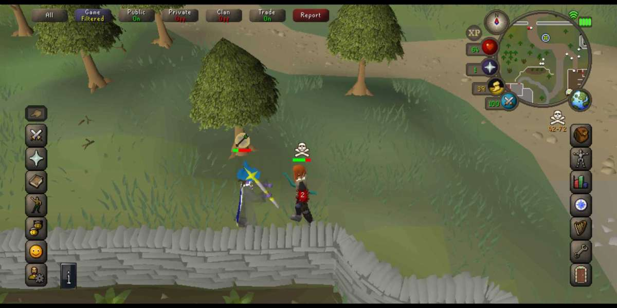 Runescape is so utterly grindy