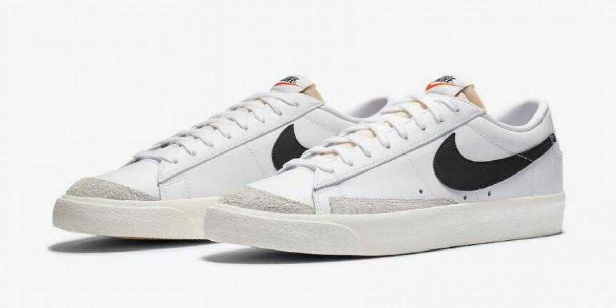 Nike Blazer Low '77 Vintage White Black is Available Now