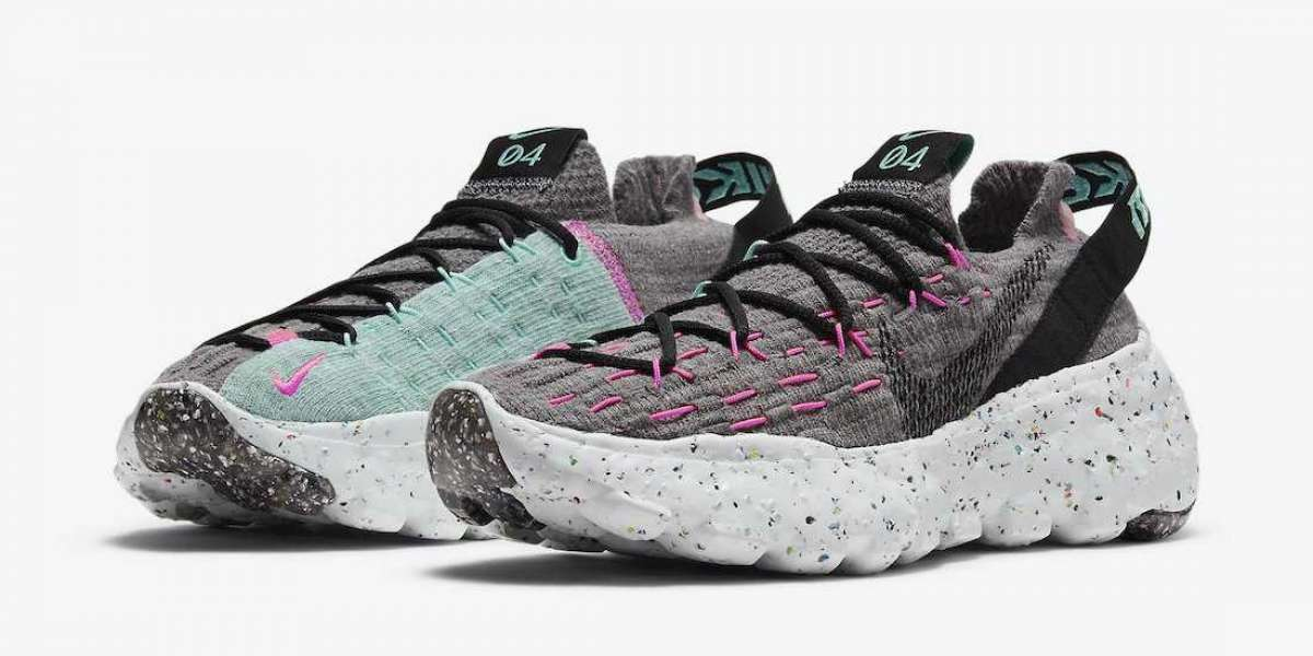 "New Release Nike Space Hippie 04 ""South Beach"" Running Shoes CD3476-003"