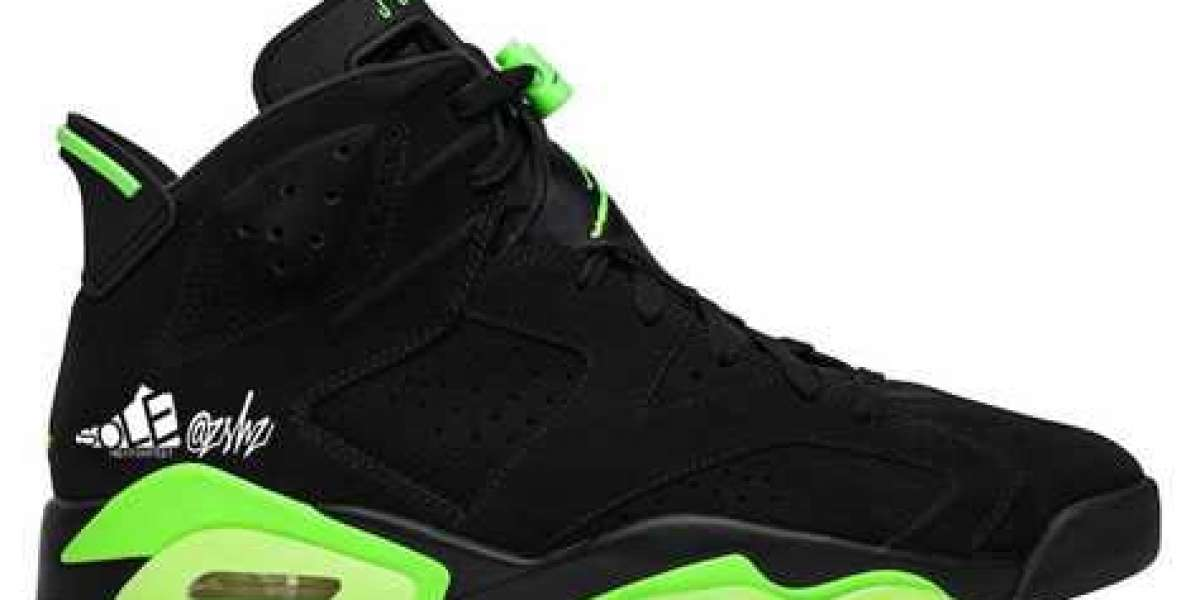 "CT8529-003 Aj 6 ""Electric Green"" Black/Electric Green will be released in June 2021"