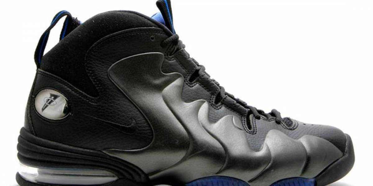 """2020 New Nike Air Penny 3 """"Black Royal"""" CT2809-001 Sneakers to release on November 20th"""
