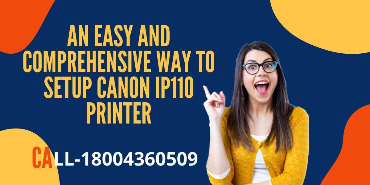 A Simple and easy way to setup Canon IP110 printer