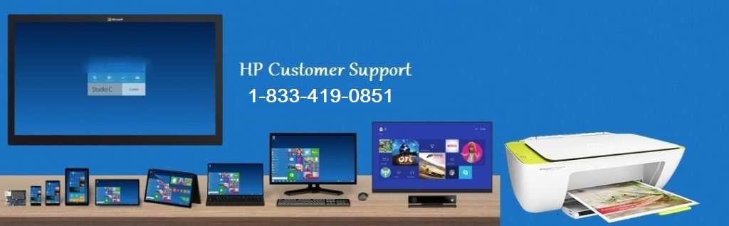 HP Customer Support and Service 1-833-419-0851 Helpline Number
