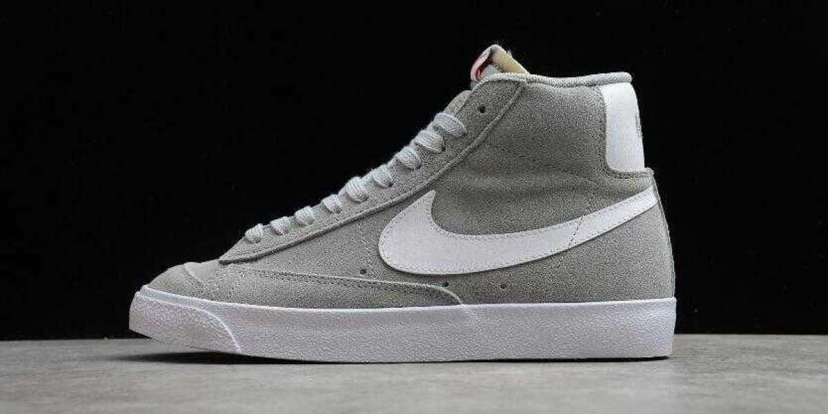 Nike Blazer Mid 77 Suede Light Smoke Grey is Available Now