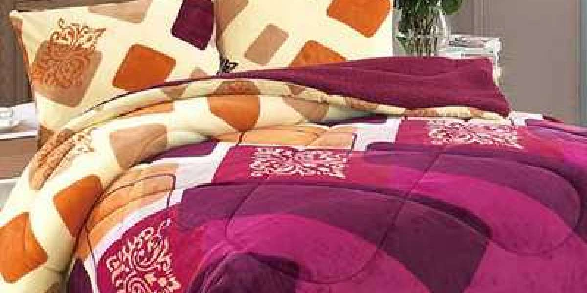 Printed Quilt With Rice Paddy Structure