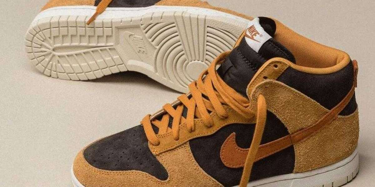 Good Chance to Buy 20% discount Nike Dunk High Dark Russell