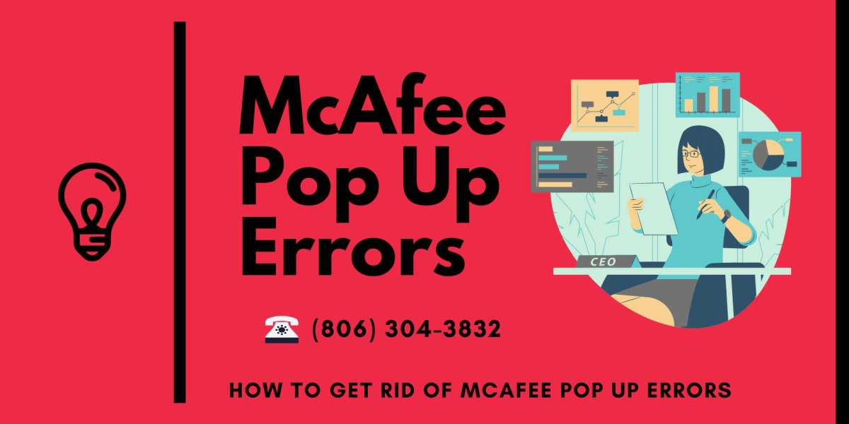 How to get rid of McAfee Pop Up Errors