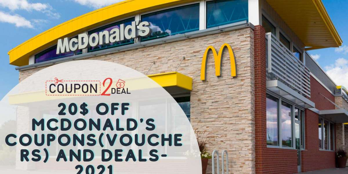 20$ Off McDonald's Coupons(vouchers) and Deals-2021