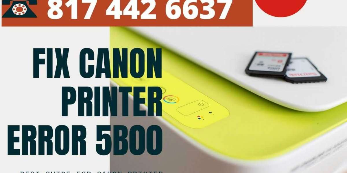 A Complete Guide To Fix Canon Printer Error 5b00 - Dial 817 442 6637
