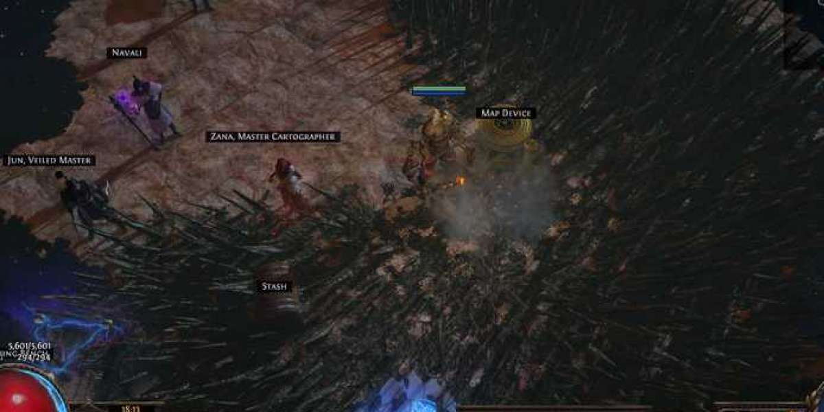 Path of Exile's harvesting manual design concept