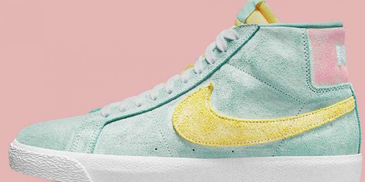 """2021 Latest Nike SB Releaseing A """"Faded"""" Style Of Blazer Mids"""