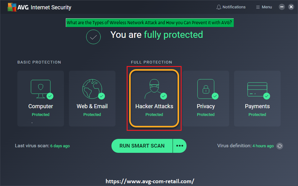 What are the Types of Wireless Network Attack and How you Can Prevent it with AVG? - Www.Avg.com/retail