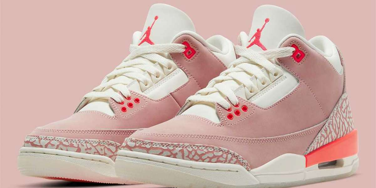 """Hot Sell Air Jordan 3 WMNS """"Rust Pink"""" will releasing on April 15, 2021"""