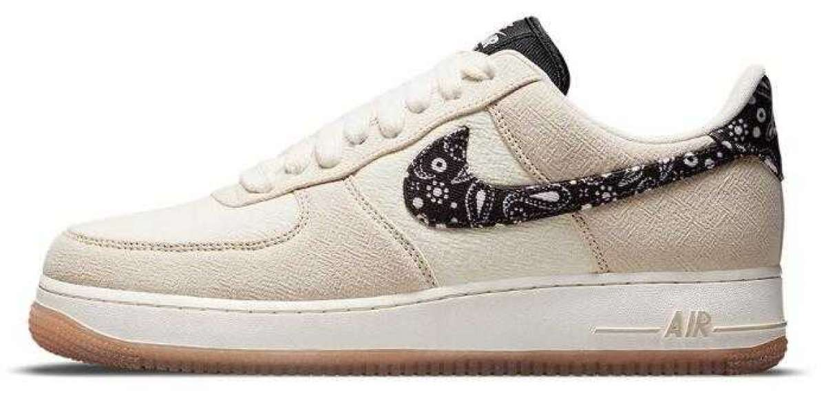 2021 Newest Air Force 1 Low Releasing With Paisley Swooshes