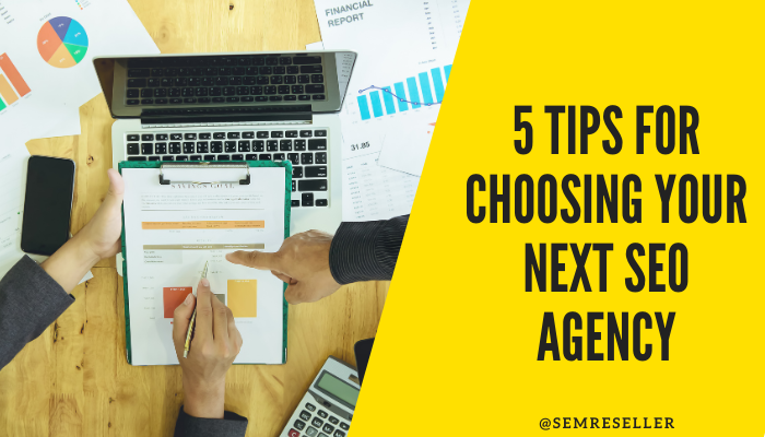 5 TIPS FOR CHOOSING YOUR NEXT SEO AGENCY | Mr. Journo