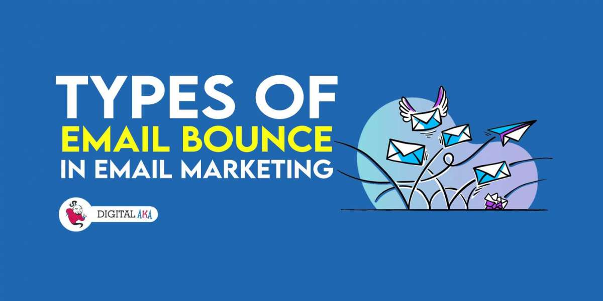 What are the various kinds of email bounces in email marketing?