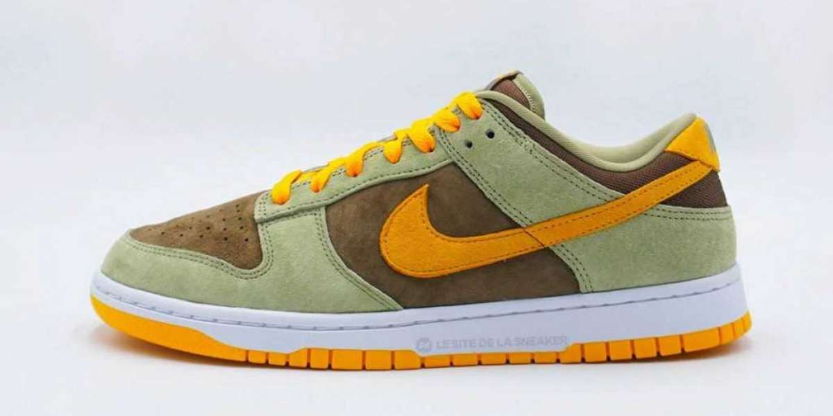 First look at Nike Dunk Dusty Green