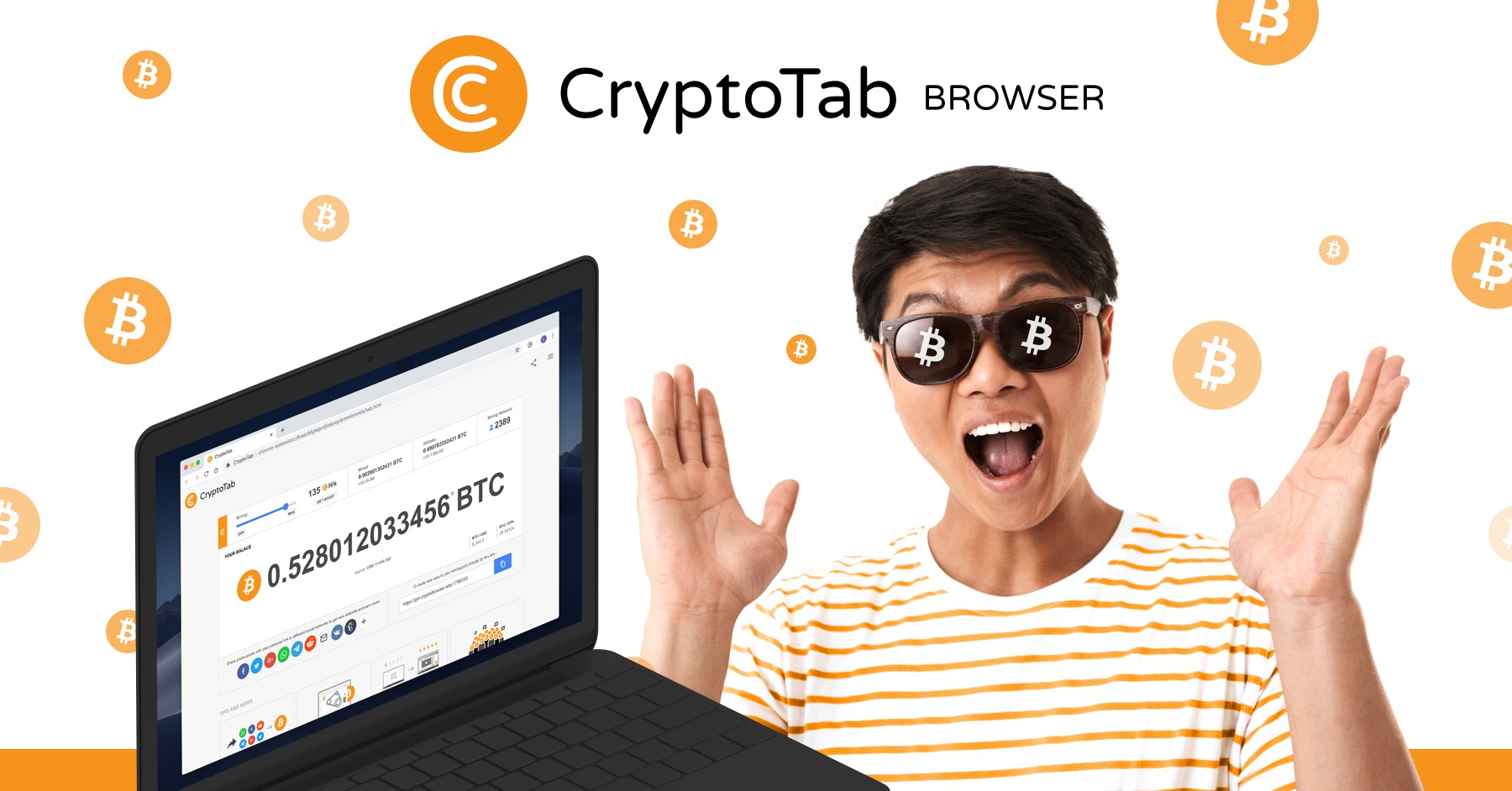 CryptoTab Browser - Easy way for Bitcoin Mining   CryptoTab Browser