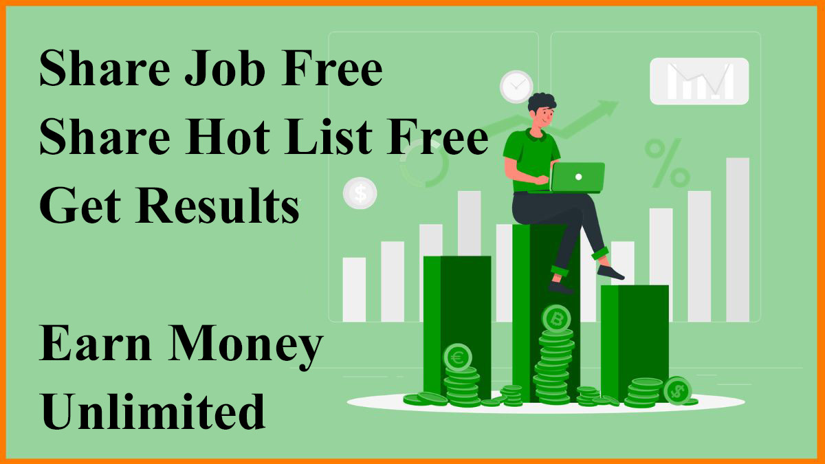 Share and Earn Money Unlimited