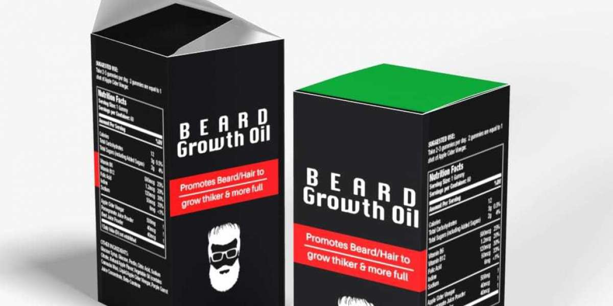 What is the role of wholesale beard oil boxes?