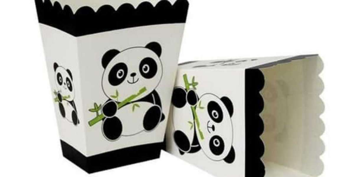 Customized Popcorn Packaging Boxes with Free Shipping