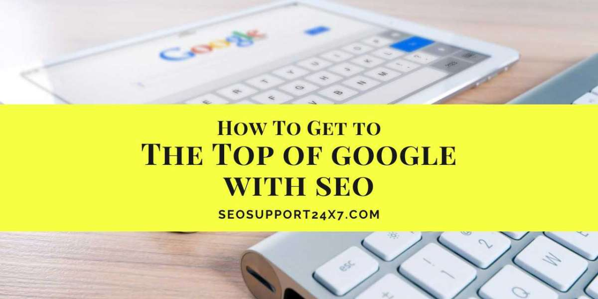 Get on Top of Google with SEO