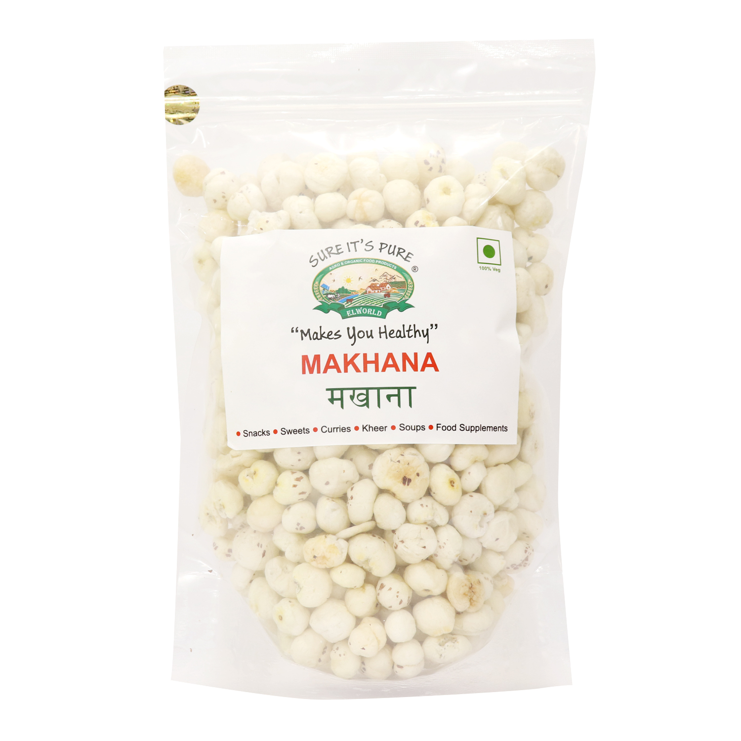 Buy Pure and Natural Makhana And Get Special Discounts - Elworld Organic