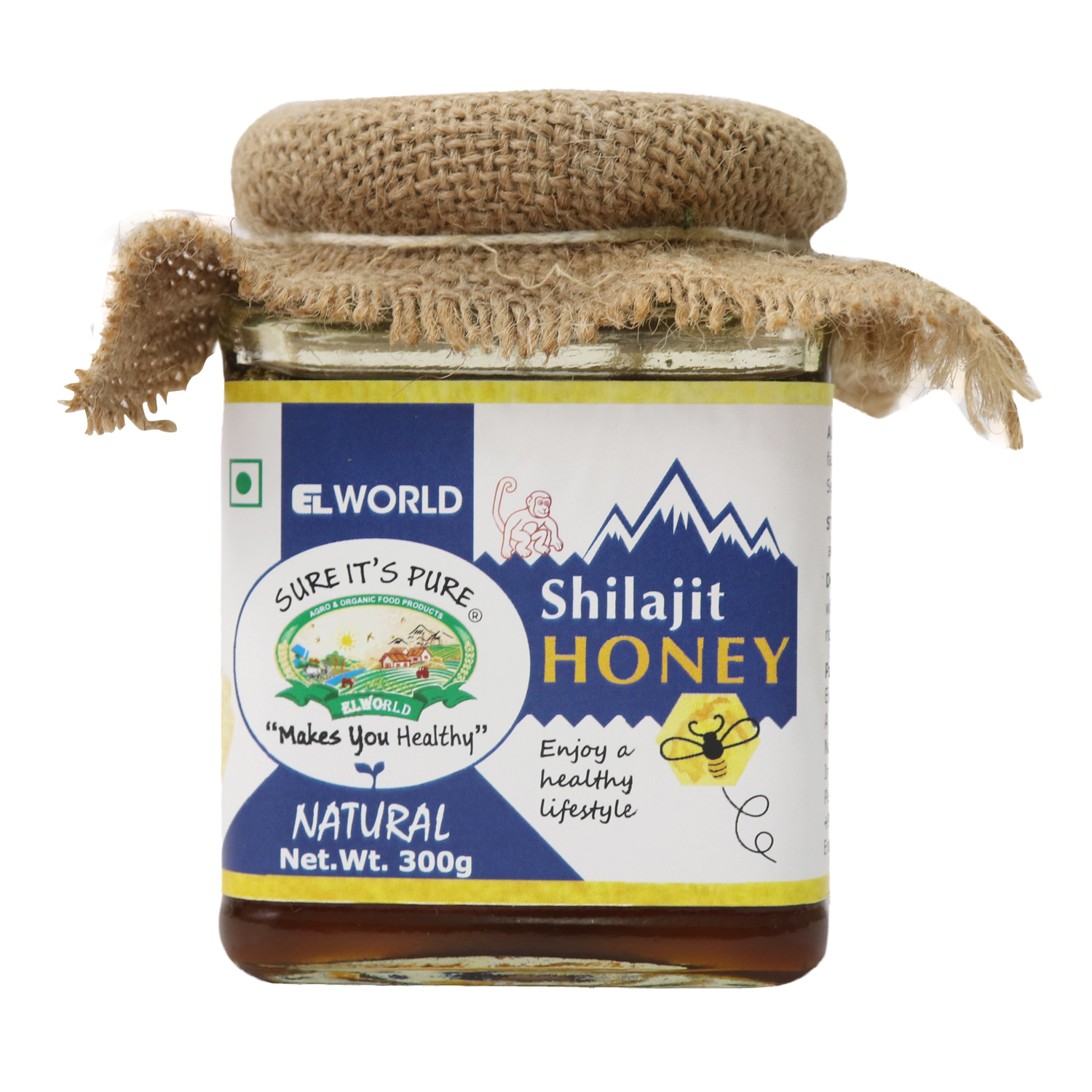 Order Now The Best Natural Shilajit Honey Delivered Right To You - Elworld Organic