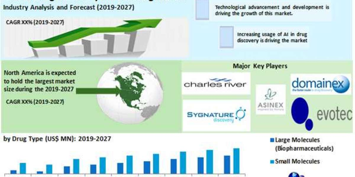 Global Drug Discovery Outsourcing Market-Industry Analysis and forecast 2019 – 2027