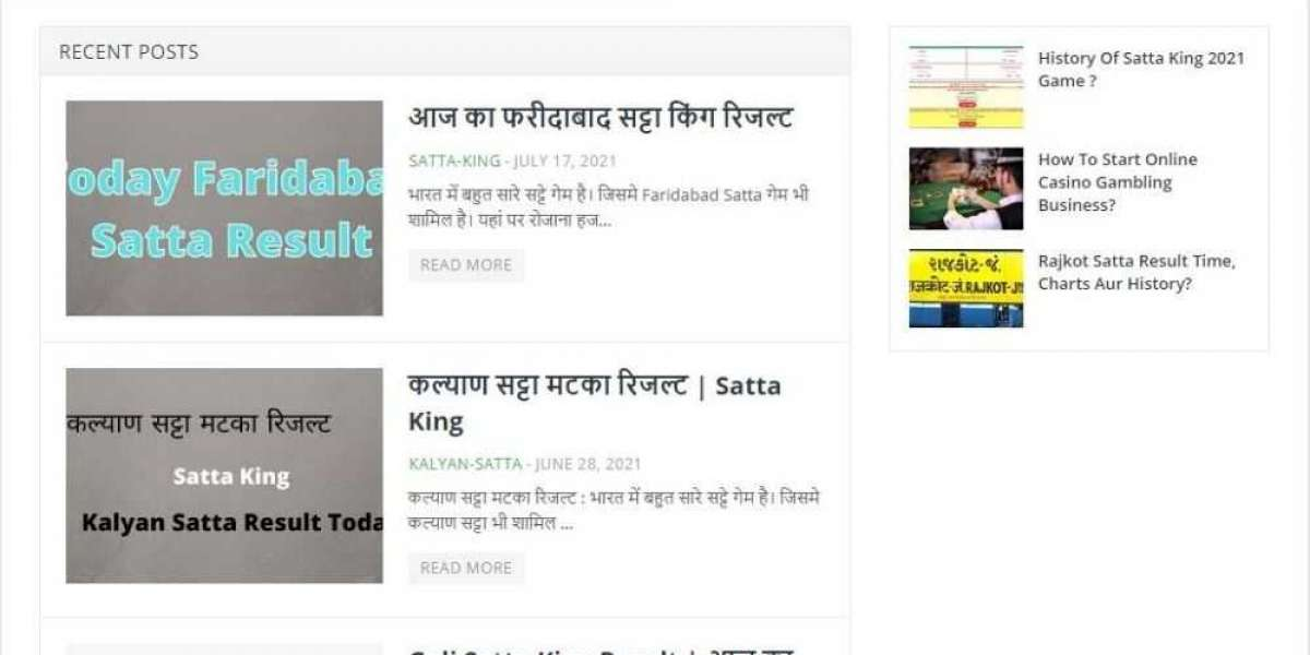 Satta King Games Result time ?