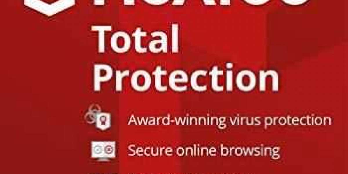 How to install McAfee Security Program with the product key?