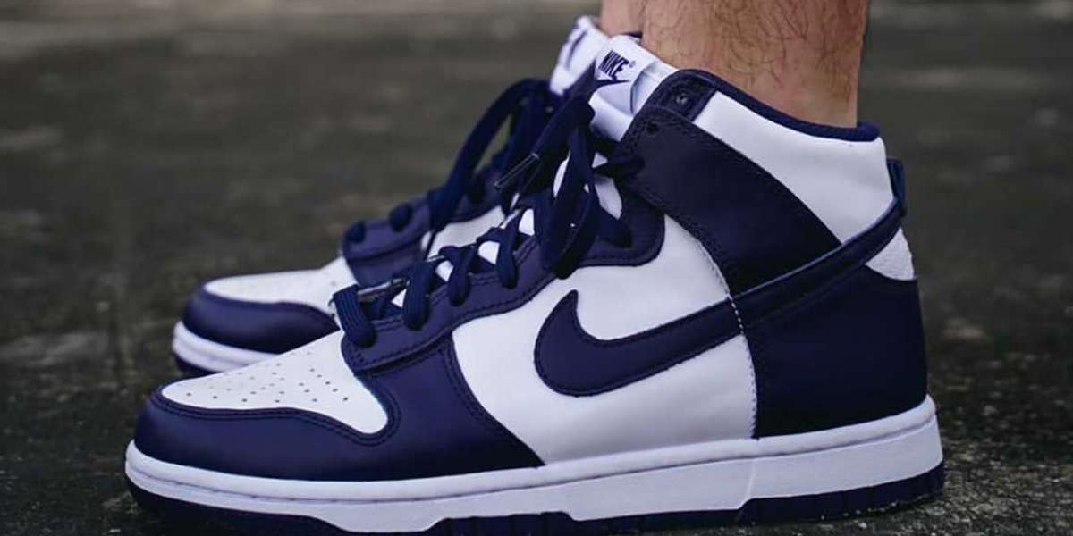 """2021 New Nike Dunk High """"Midnight Navy"""" is coming soon"""
