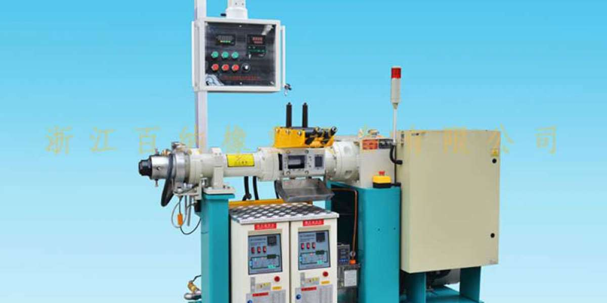 Mechanical Principle of the Rubber Extruder Machine