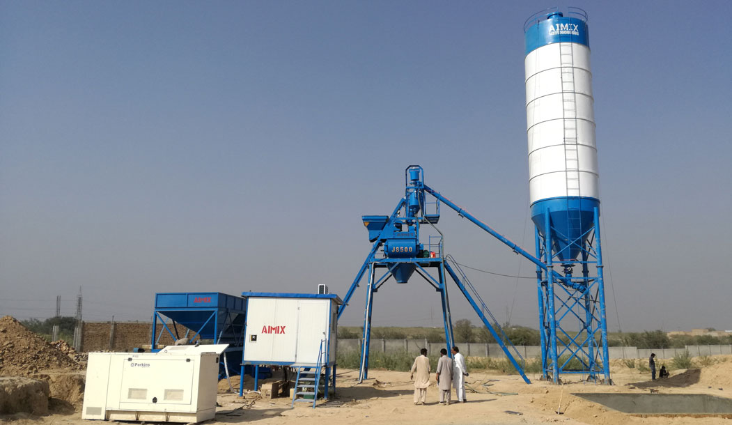 Mini Batching Plant For Sale - Indonesia Supplier Aimix Group