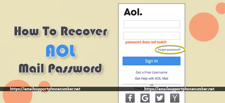 How To Recover AOL Mail Password