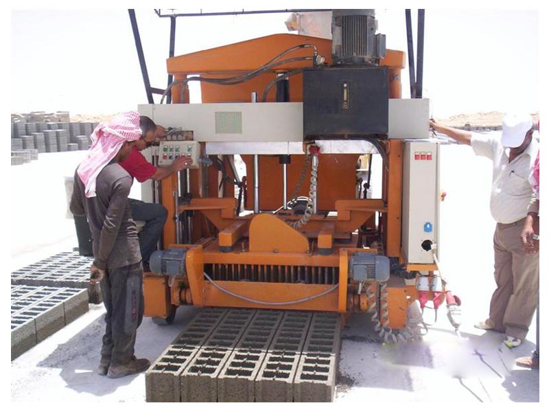 Egg Laying Block Making Machine for Sale- Indonesia Supplier Aimix